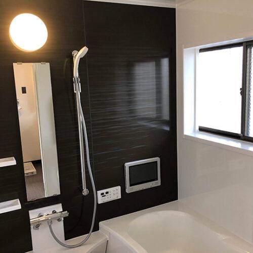 浴室TVのついたお風呂へリフォーム